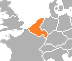 Location of Belgium (Satomi Maiden ~ Third Power).png