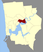 Map of Swanstone County