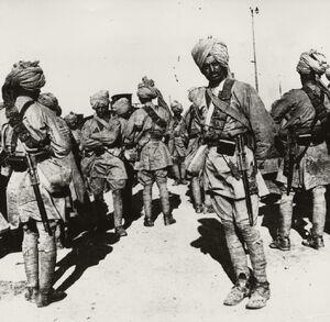 WK-Indische-Truppen-Foto-Indian-troops-Photo