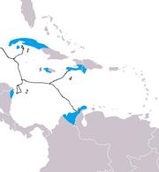 Aztec world map