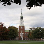 Baker Memorial Library at Dartmouth College, October 14, 2007