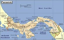 Mapa-panama