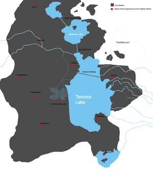 Tenochtitlan map