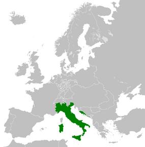 Италия-1825