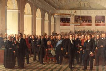 Принятие конституции Дании
