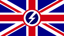 Flag of a Fascist United Kingdom in Hearts of Iron 4 by tobusblastius