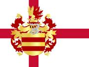 Flag of Oldenburg County (The Kalmar Union)