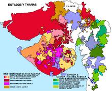 Gujarat mapa