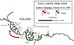 Map Zaolzie Operation