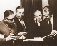 Pinochet y Aylwin