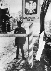 Polnischer Grenzübergang