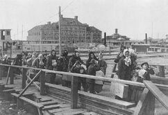 Иммигранты на острове Элис