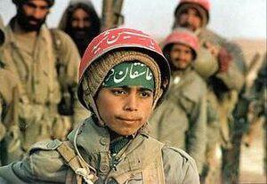 Иранские дети-солдаты