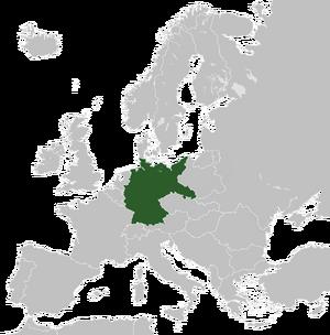 Карта Германии (МРГ)