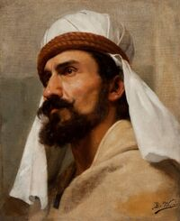 Bertha Worms - Retrato de Beduíno, s.d.