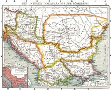 Roman provinces of Illyricum, Macedonia, Dacia, Moesia, Pannonia and Thracia