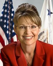 Sarah Palin official portrait