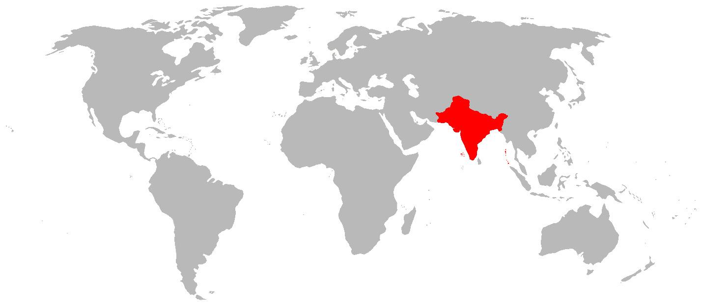 India vegetarian world alternative history fandom powered by wikia location of india world india vegworld gumiabroncs Images