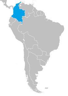 Colombia asxx mapa