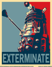 Dalek Exterminate Campaign by DegaSpiv