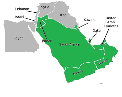 Image - Federation of The Arabian Peninsula Map.png | Alternative ...