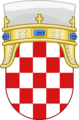 Lesser Coat of arms of Kingdom of Croatia.png