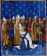 Couronnement de Charles VI le Bien-Aimé