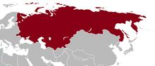 Mapa rusia asxx