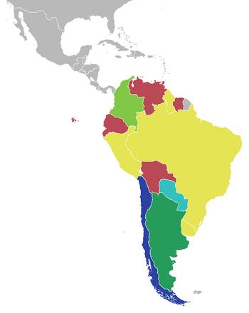 Mapa de la Copa América 2015 (CNS)