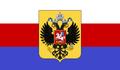 Bandera reino rusia blanca