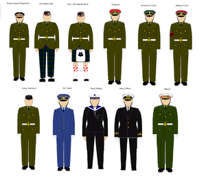Scottish Class A Uniforms