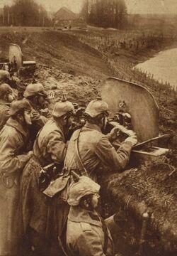 Немецкие пулемётчики
