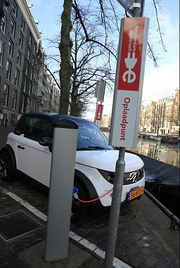 Amsterdam recharging station for 2001 Model XL Alexcior