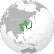 Greater East Asian Prosperity Alliance members (TNE)