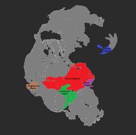 Pangea 3,000 BC