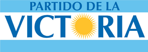 Logo Partido de la Victoria