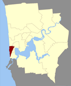 Map of Cottesloe County