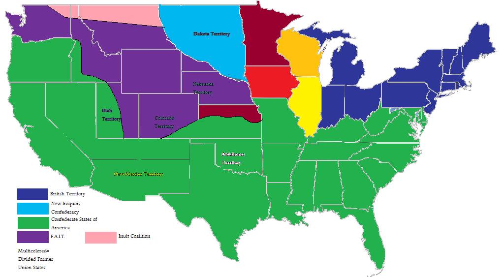 American Civil War: Confederate Victory | Alternative History