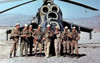 Afganistan tropas rusas