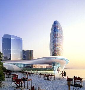 Futuristic-modern-building-constructions