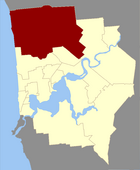 Map of Stirling County