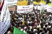 Protest in Khartoum 2006