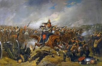 Атака французской кавалерии