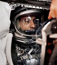 250px-Alan Shepard in capsule aboard Freedom 7 before launch2