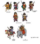 Dai Viet's army