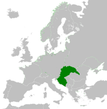 Hungría Mapa (RD)