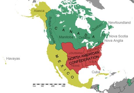 Mexico Grande - North America - map