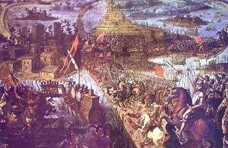 Tenochtitlan Fall
