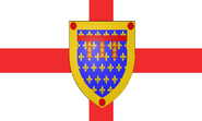 Flag of England-Calais