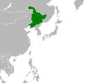 Manchuria (Cherry, Plum, and Chrysanthemum)